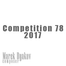 """Competition 78 2017"""